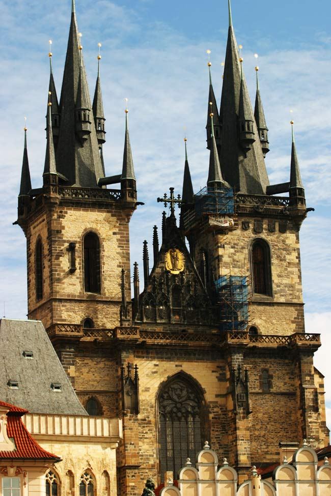 Teyn church prague